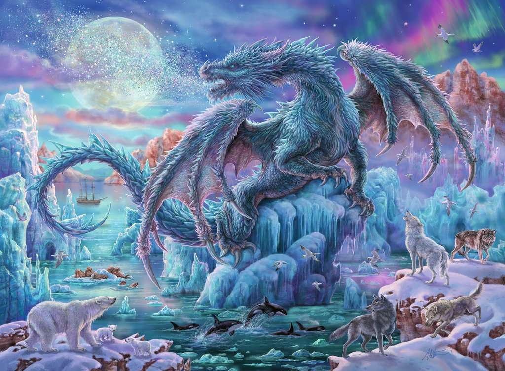 Mystical Dragons Adult Puzzles Jigsaw Puzzles Products Ca En Mystical Dragons