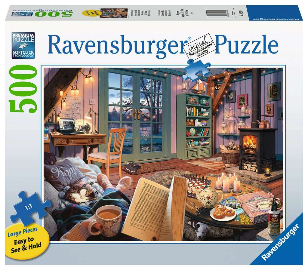 Cozy Retreat Adult Puzzles Jigsaw Puzzles Products Cozy Retreat