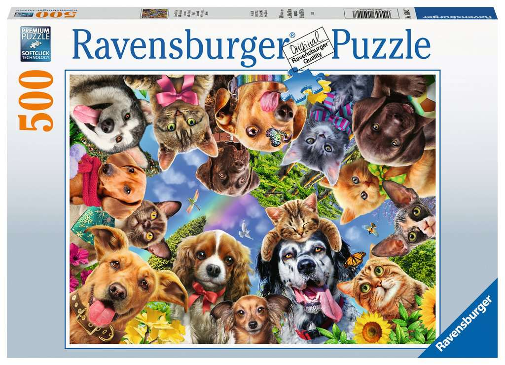 Animal Selfie Adult Puzzles Jigsaw Puzzles Products Animal Selfie