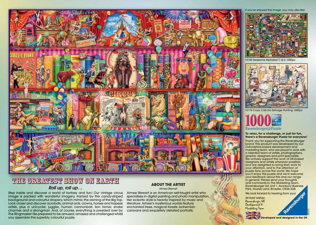 The Greatest Show on Earth | Adult Puzzles | Jigsaw Puzzles