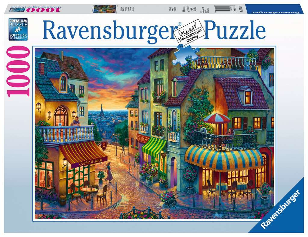 An Evening In Paris Adult Puzzles Jigsaw Puzzles Products An Evening In Paris