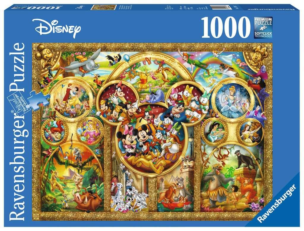 Die Schonsten Disney Themen Erwachsenenpuzzle Puzzle Produkte