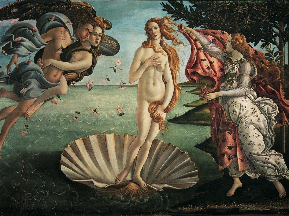 Puzzle 1000 Pz Pezzi Art Collection Botticelli Nascita di Venere Ravensburger