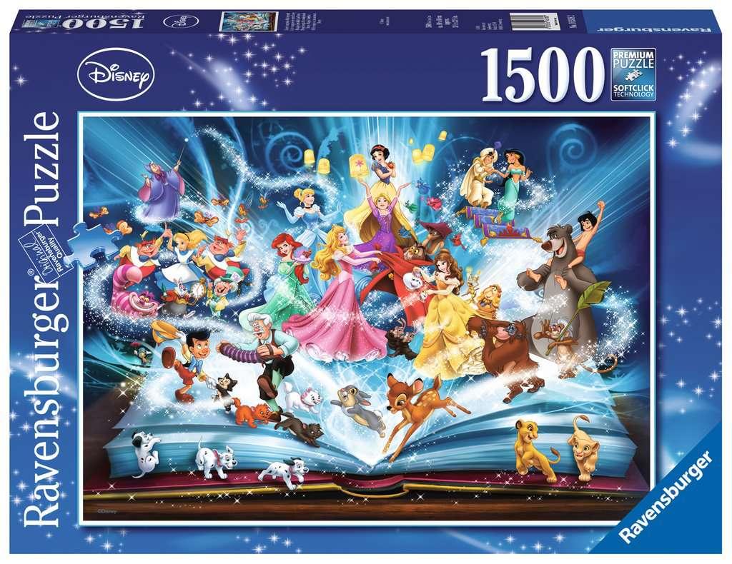 Puzzle 1500 P Le Livre Magique Des Contes Disney
