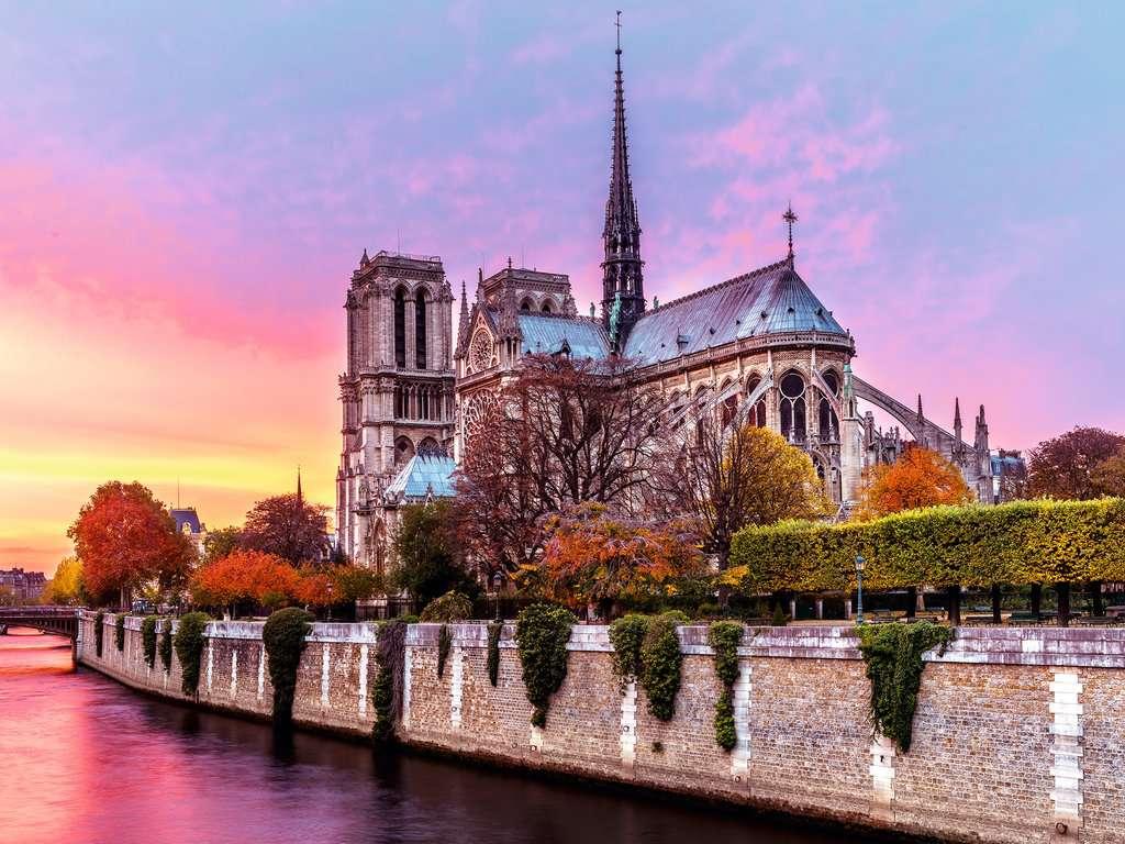 Malerisches Notre Dame Erwachsenenpuzzle Puzzle Produkte