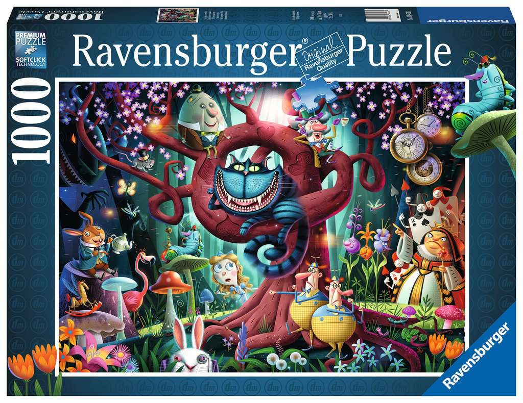 Ravensburger Midnight at the Library 1000 Piece Puzzle Brand New Ships Fast