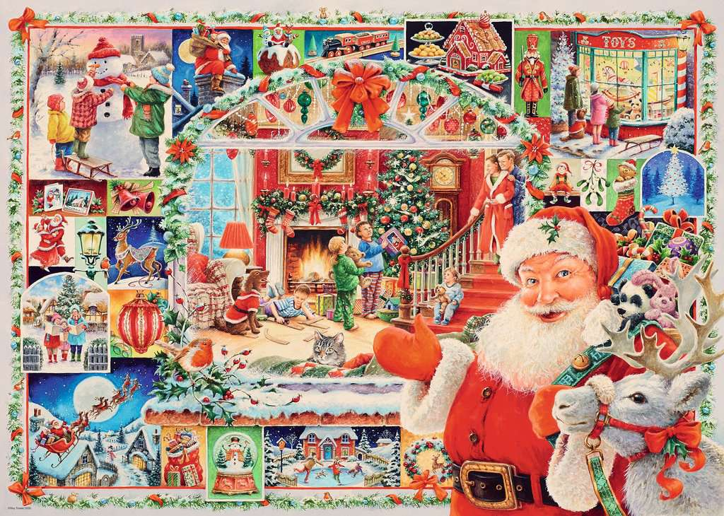 Christmas Puzzles 2020 Christmas is Coming! Limited Edition 2020, 1000pc   Adult Puzzles