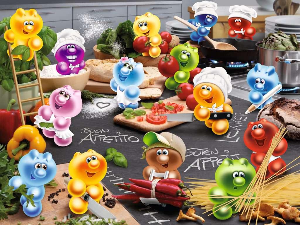 Gelini Puzzle Küche   Kuche Kochen Leidenschaft Erwachsenenpuzzle Puzzle Produkte