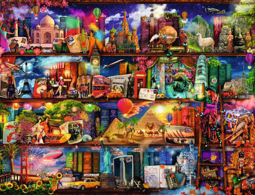 World of Books | Adult Puzzles | Jigsaw Puzzles | Products
