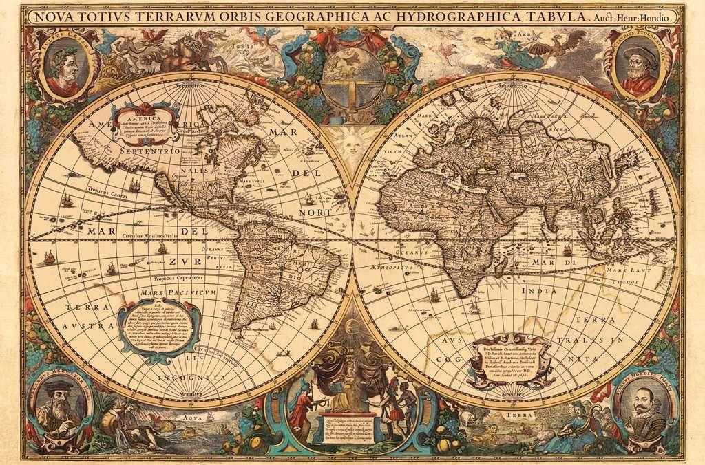Antico Mappamondo Puzzle Da Adulti Puzzle Prodotti It