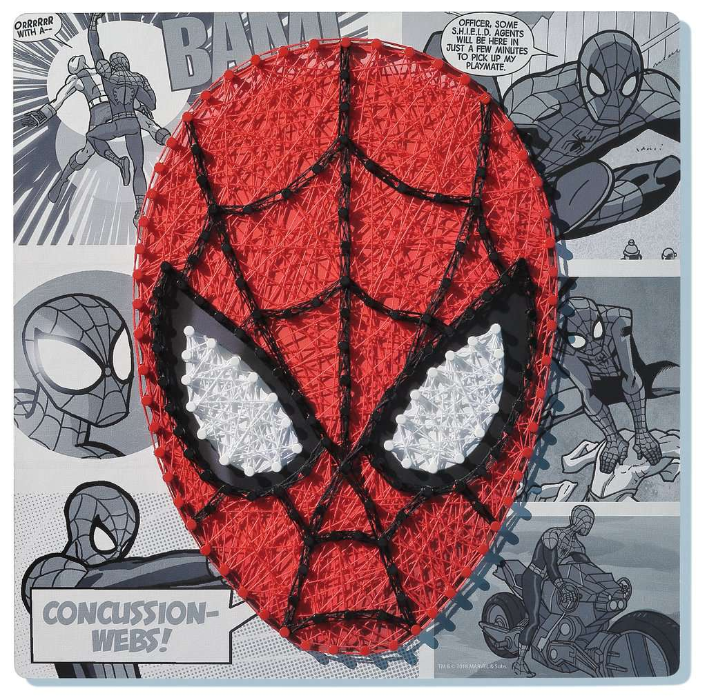 String It Midi Lizenz Marvel Spiderman Bastelsets Malen Und