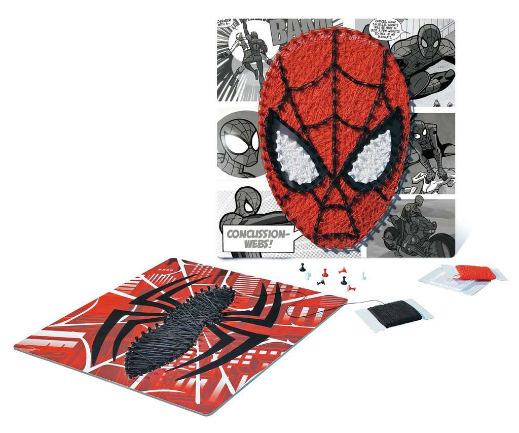 String It Midi Lizenz Marvel Spiderman