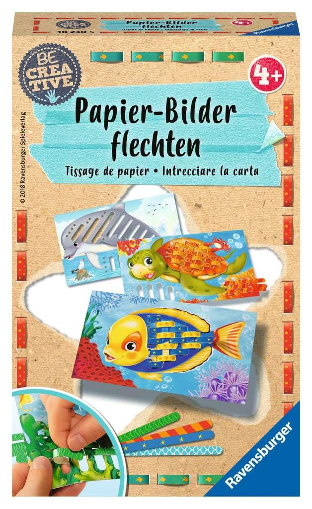 Papierflechten Malen Und Basteln;Bastelsets   Bild 1   Ravensburger