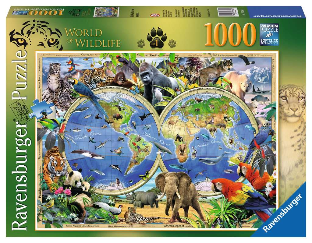 Howard robinson world of wildlife 1000pc adult puzzles howard robinson world of wildlife 1000pc puzzlesadult puzzles image 1 gumiabroncs Images