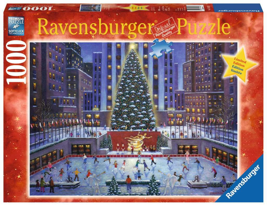 NYC Christmas | Adult Puzzles | Jigsaw Puzzles | Products | NYC ...