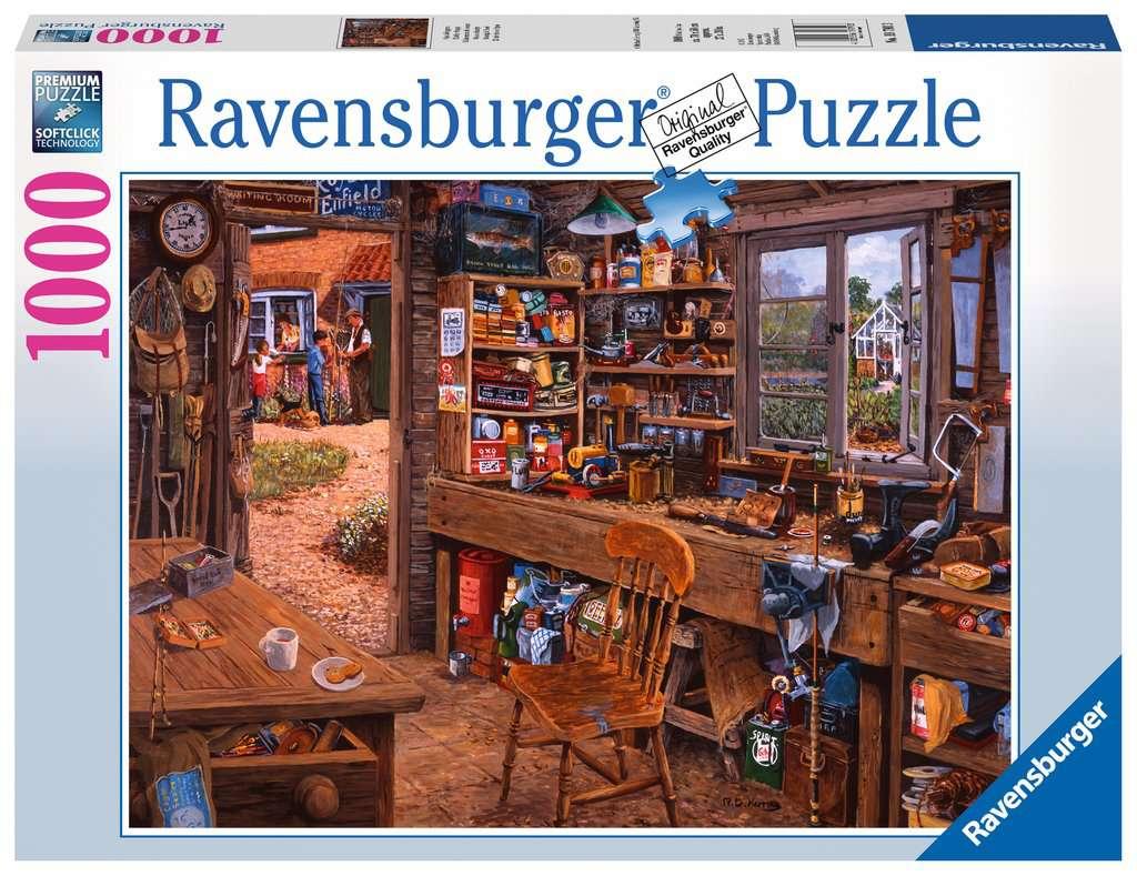 puzzle 1000 p l 39 atelier de papy image 1 cliquer pour agrandir. Black Bedroom Furniture Sets. Home Design Ideas