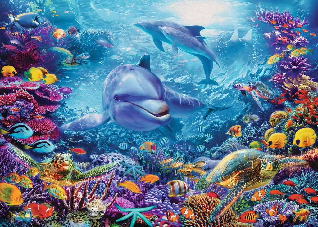 Magnificent Underwater World 1000pc Image 2 Click To Zoom