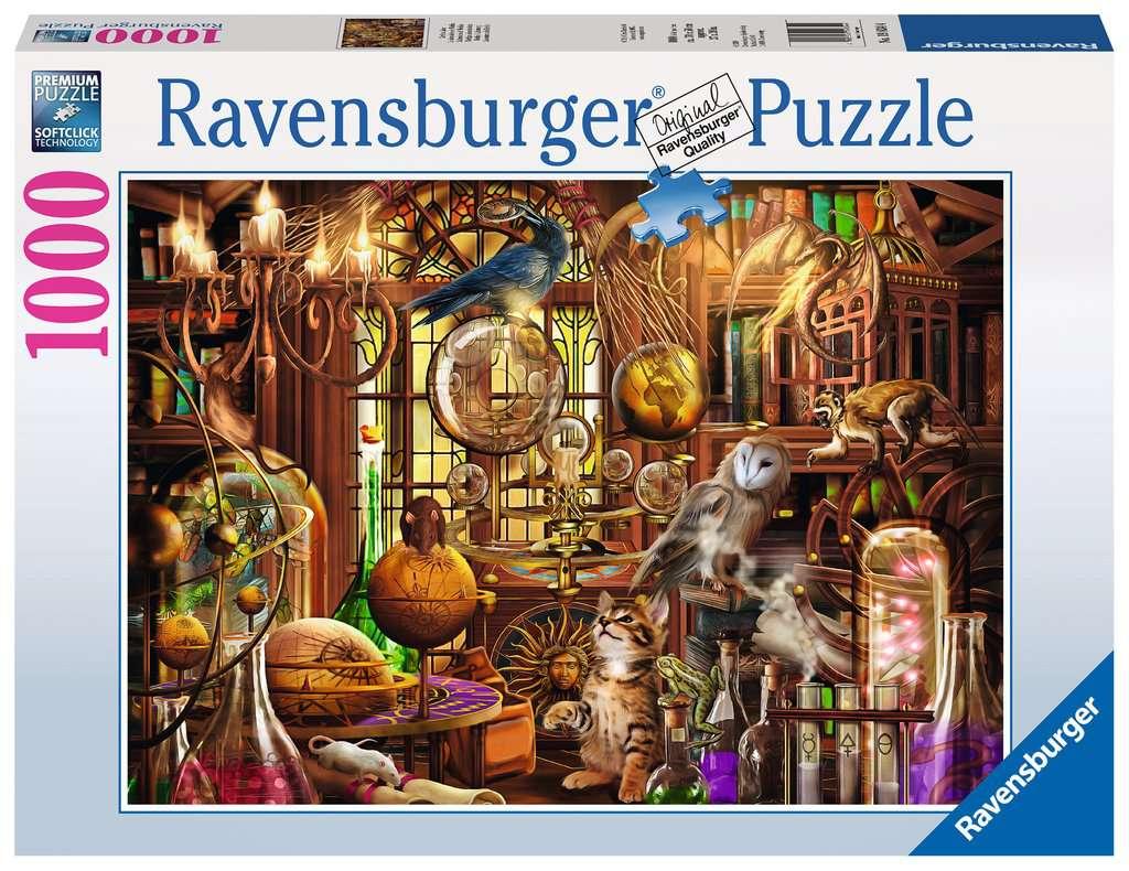 Merlin S Laboratory Adult Puzzles Jigsaw Puzzles Products Ca En Merlin S Laboratory