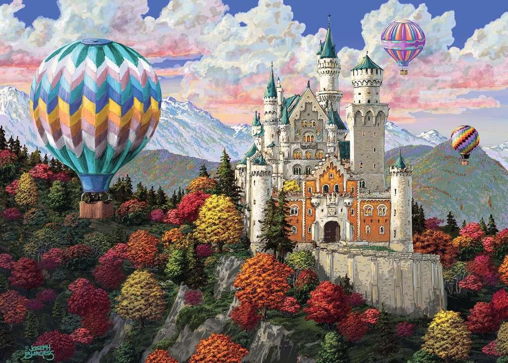Neuschwanstein Daydream Jigsaw PuzzlesAdult Puzzles
