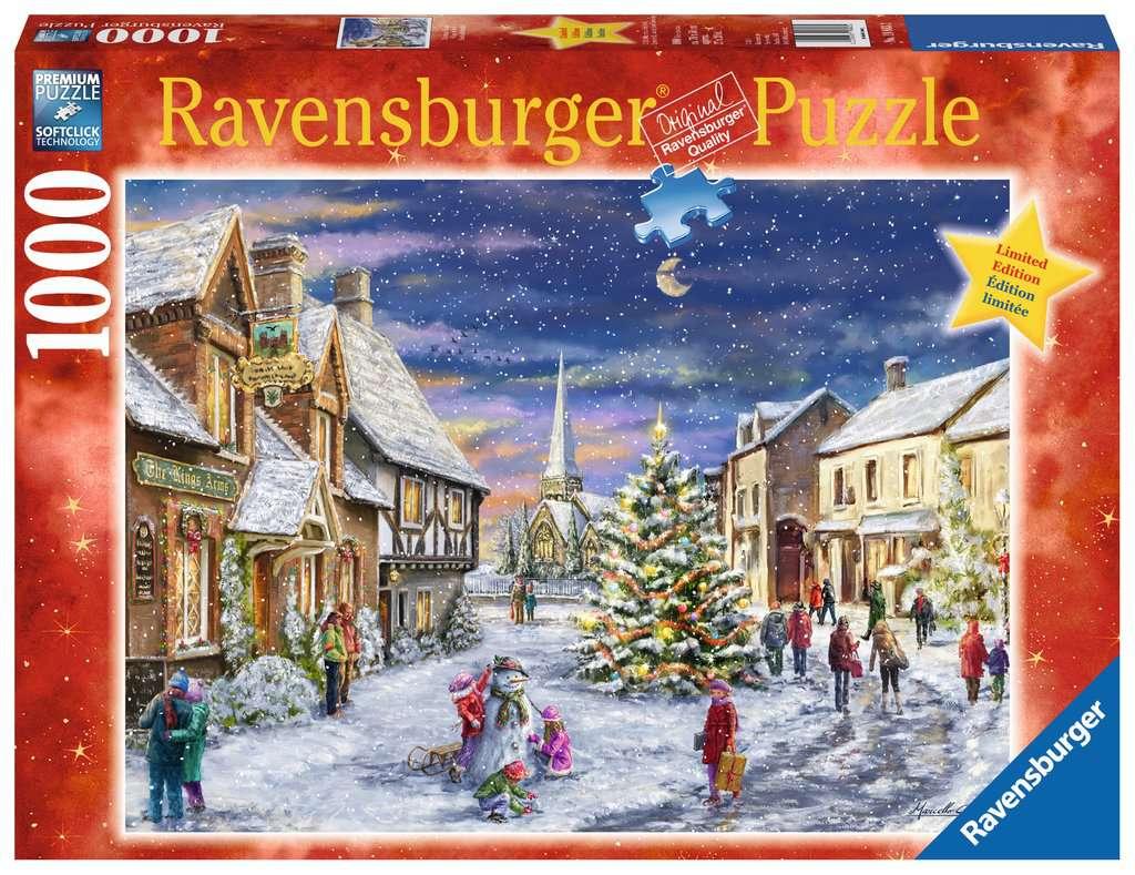 christmas village jigsaw puzzlesadult puzzles image 1 ravensburger - Ravensburger Christmas Puzzles