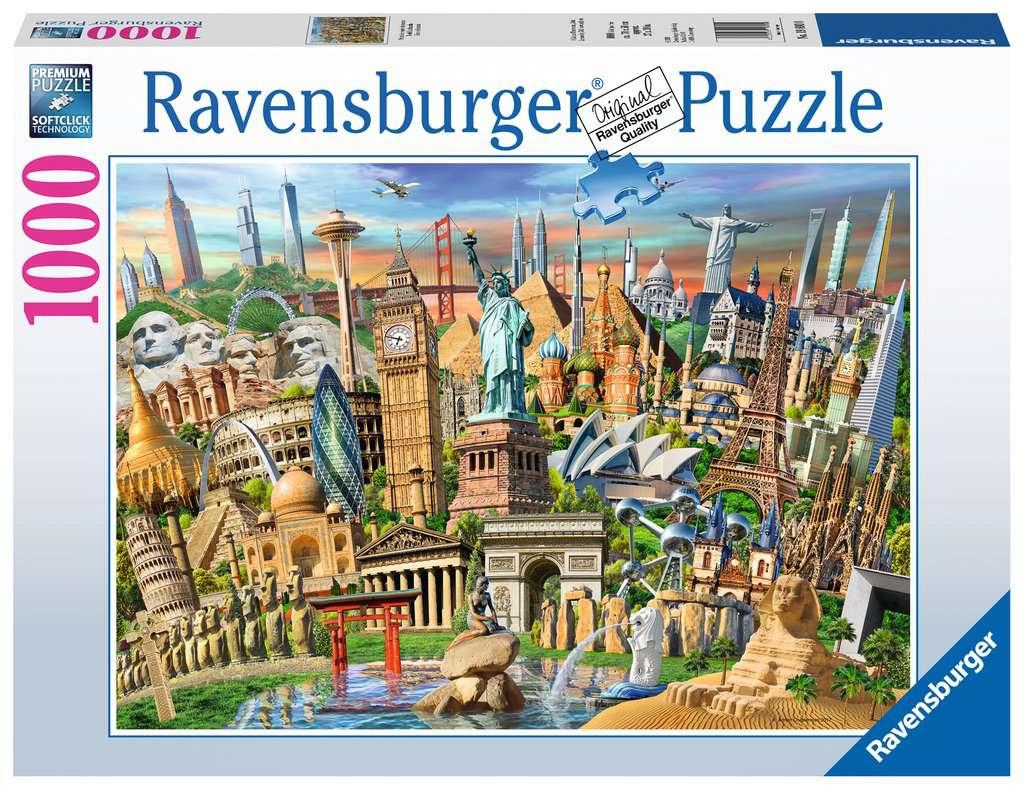 World Landmarks Adult Puzzles Jigsaw Puzzles Products Ca En World Landmarks