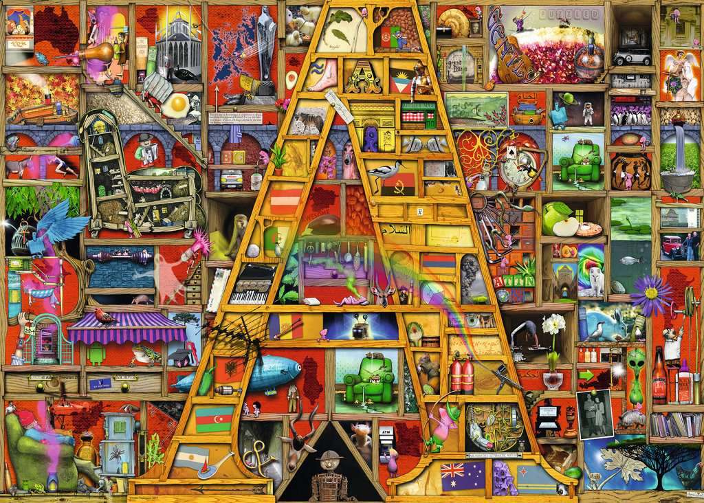 Adult jigsaw puzzle really. And