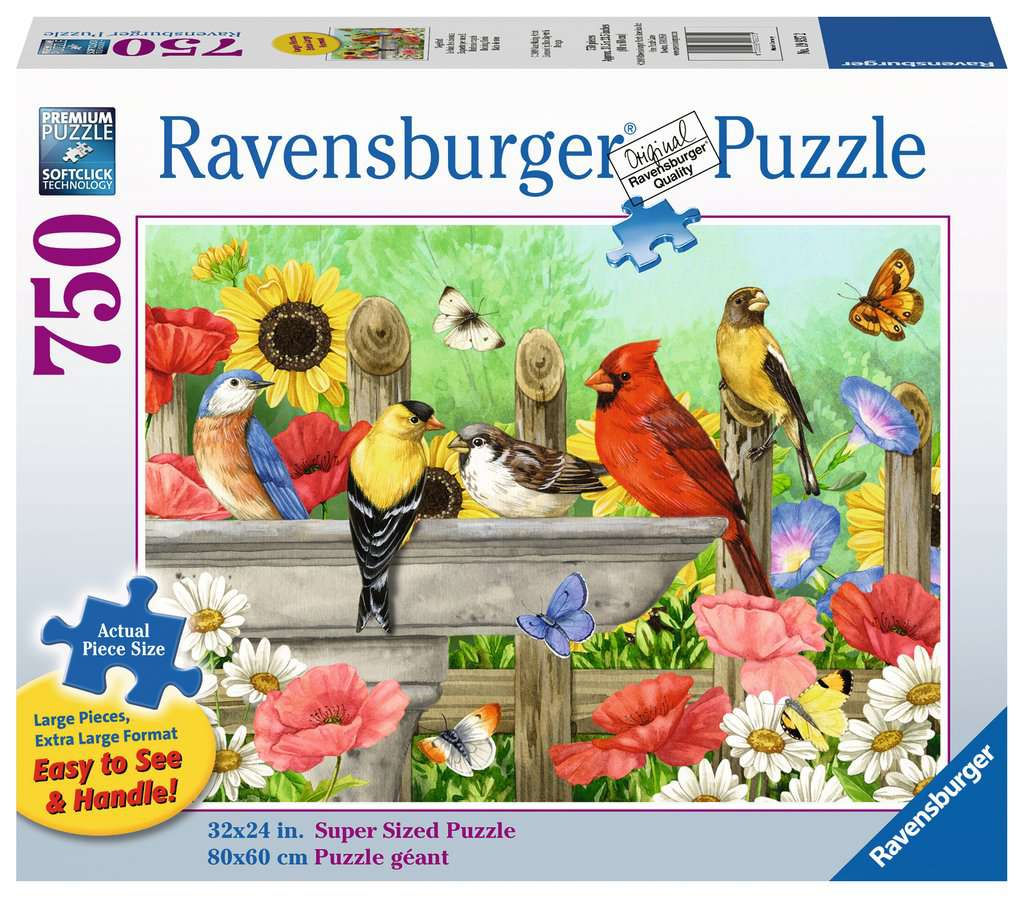 Popular Backyard Wild Birds Of N A Jigsaw Puzzle: Jigsaw Puzzles