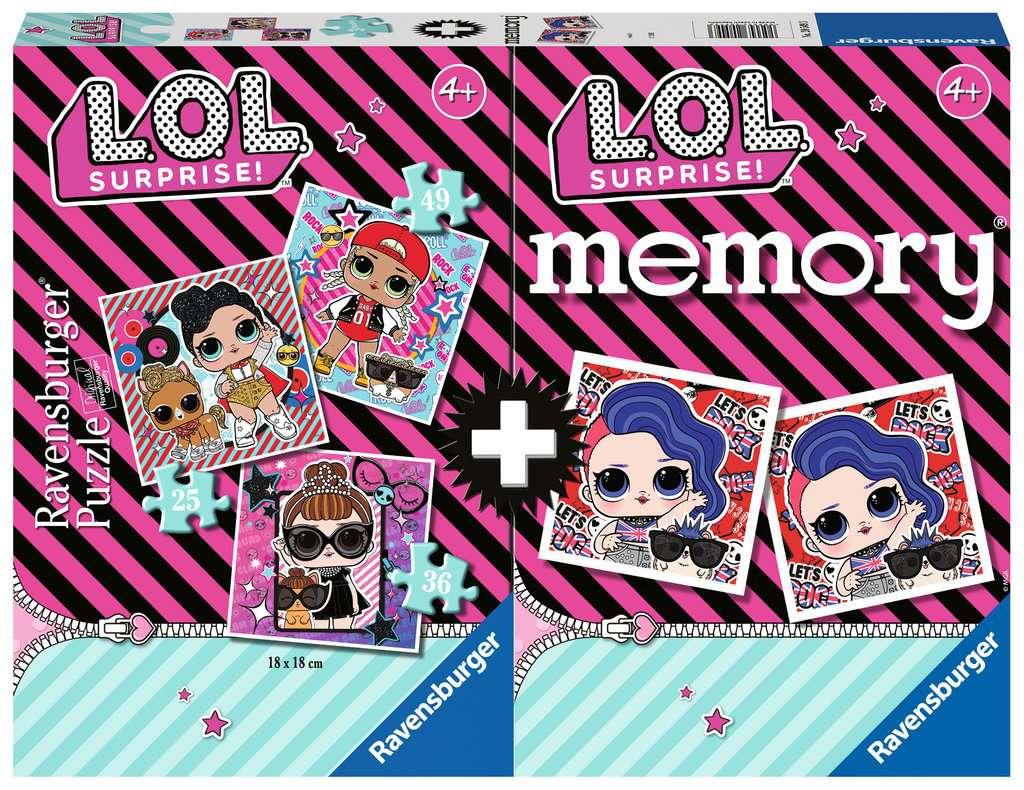 Memory Multipack Disney 3 Puzzles 49 Piezas