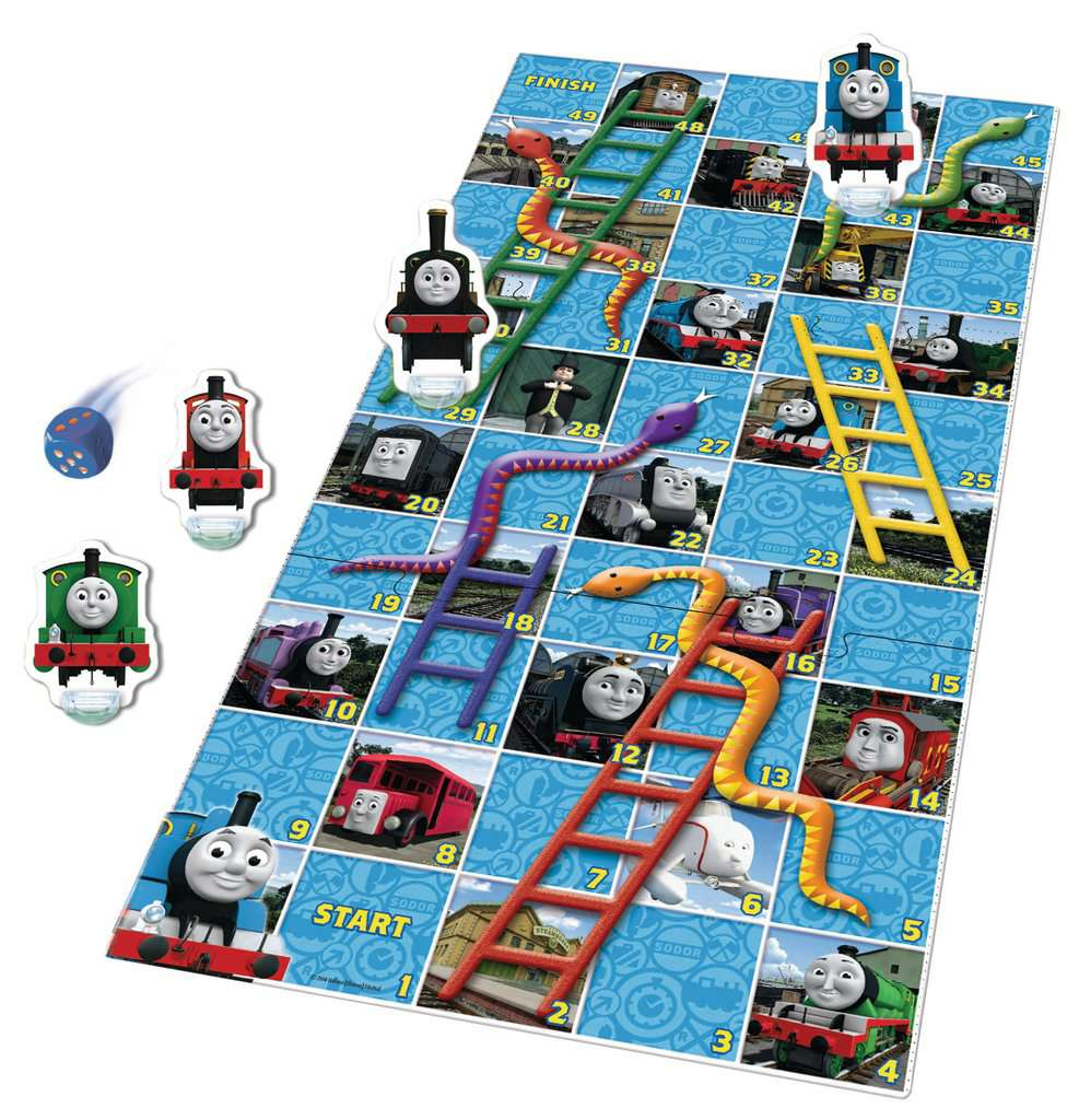 Thomas Friends Snakes Ladders Game Childrens Games Games