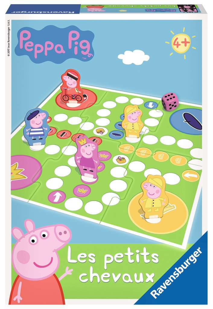 Les petits chevaux peppa pig image 1 cliquer pour agrandir - Jeux de papa pig ...