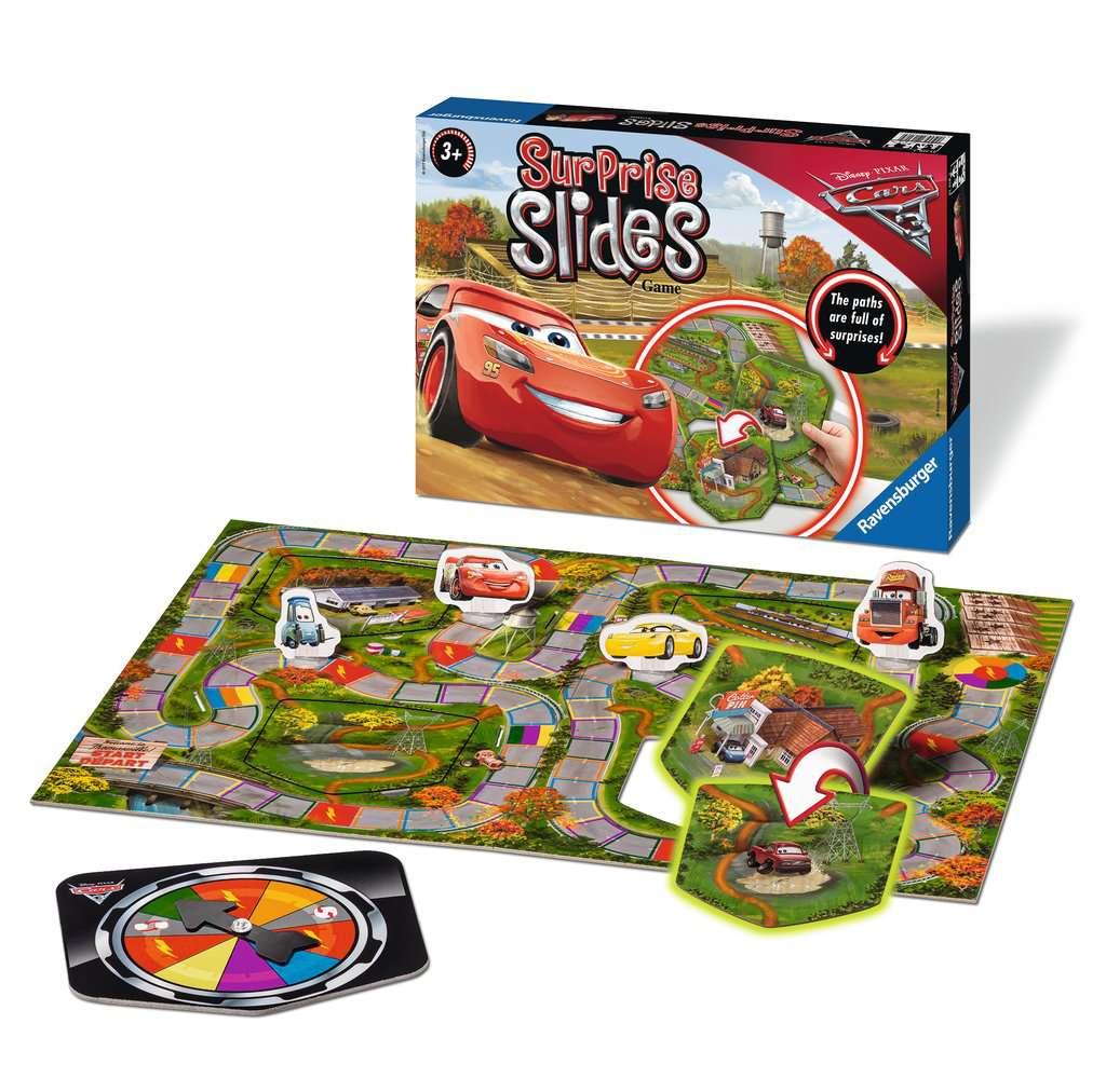 Disney/Pixar Cars 3 Surprise Slides Game
