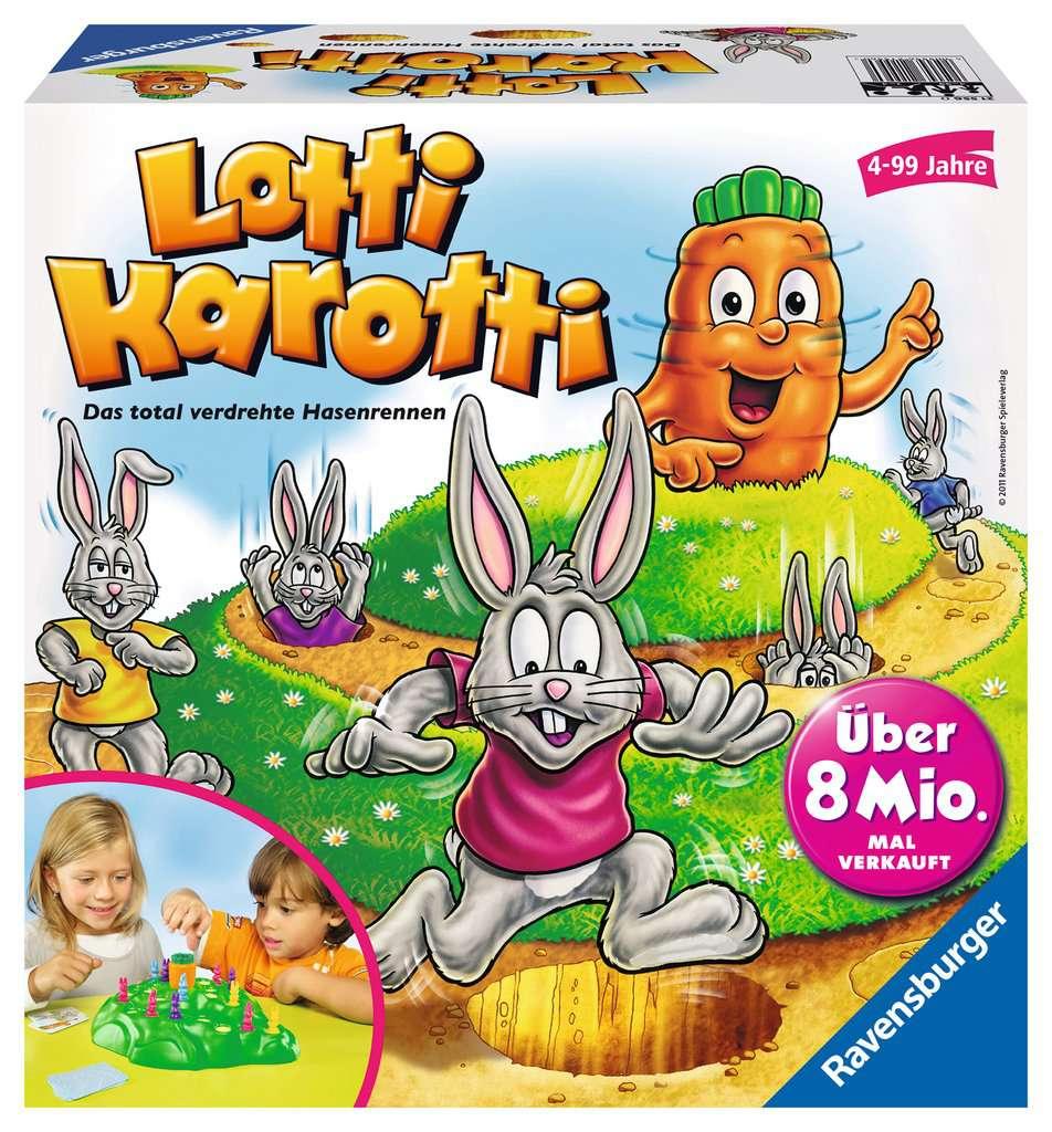Lotti Karotti Anleitung Reisespiel