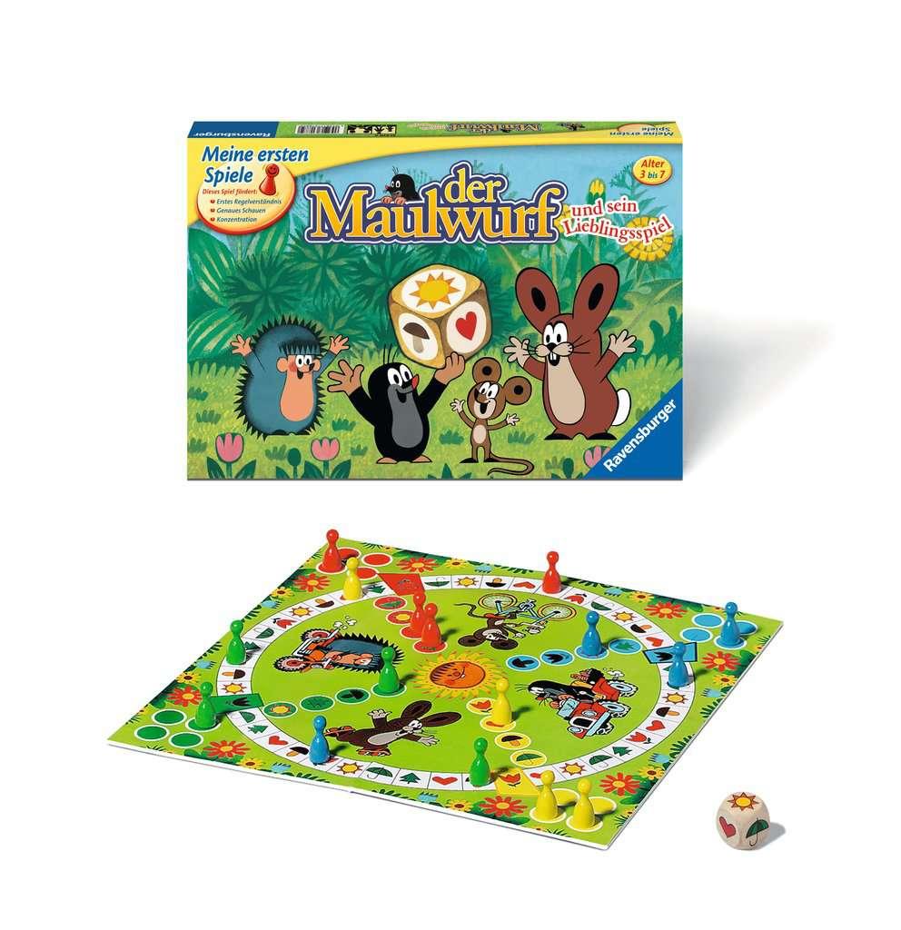Der Maulwurf Und Sein Lieblingsspiel Spielanleitung