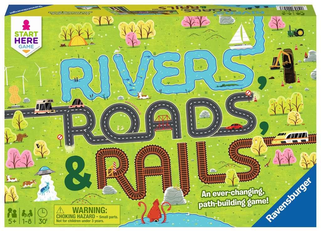 Rivers, Roads, and Rails