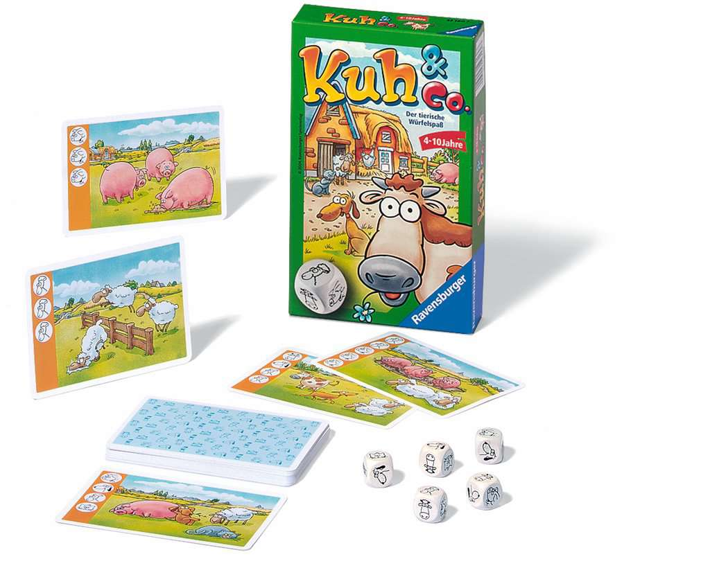 Spielanleitung Kuh & Co