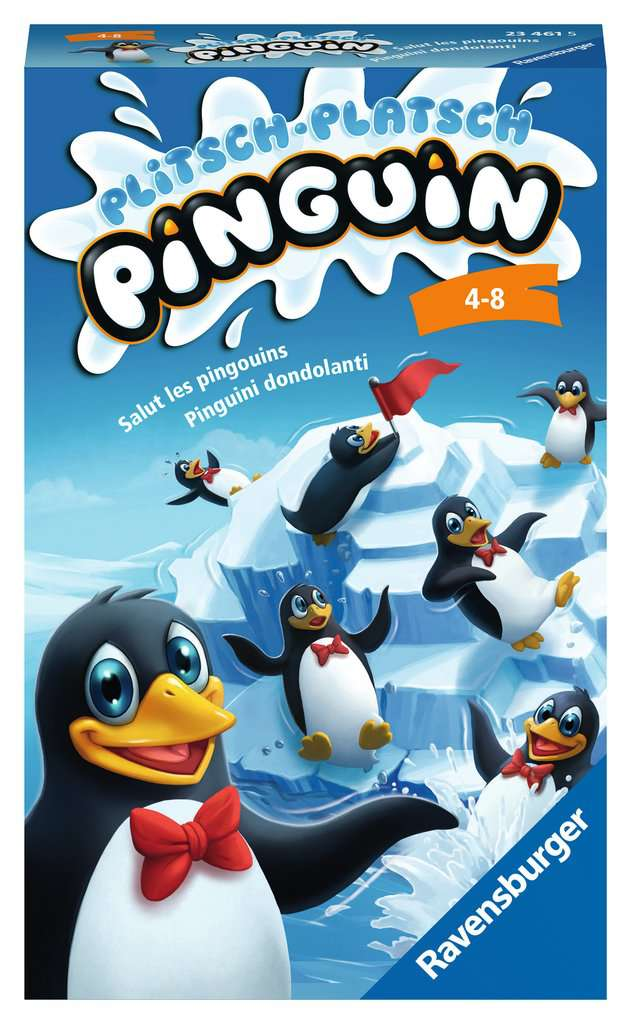 Plitsch Platsch Pinguin Spiel