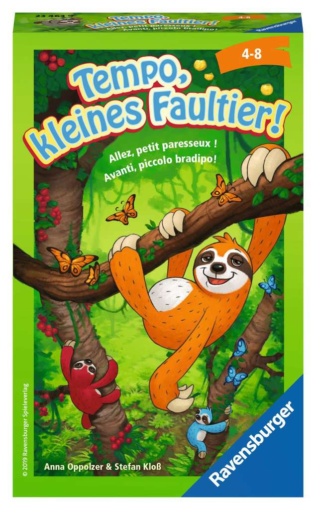 Tempo Kleines Faultier Mitbringspiele Spiele Produkte