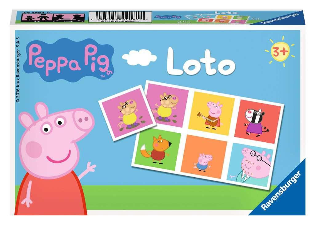 Loto Peppa Pig Jeux Enfants Jeux De Societe Produits Loto Peppa Pig
