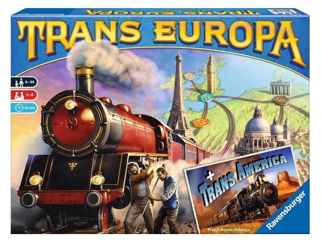 Transeuropa + Transamerica | Giochi di società | Giochi ...