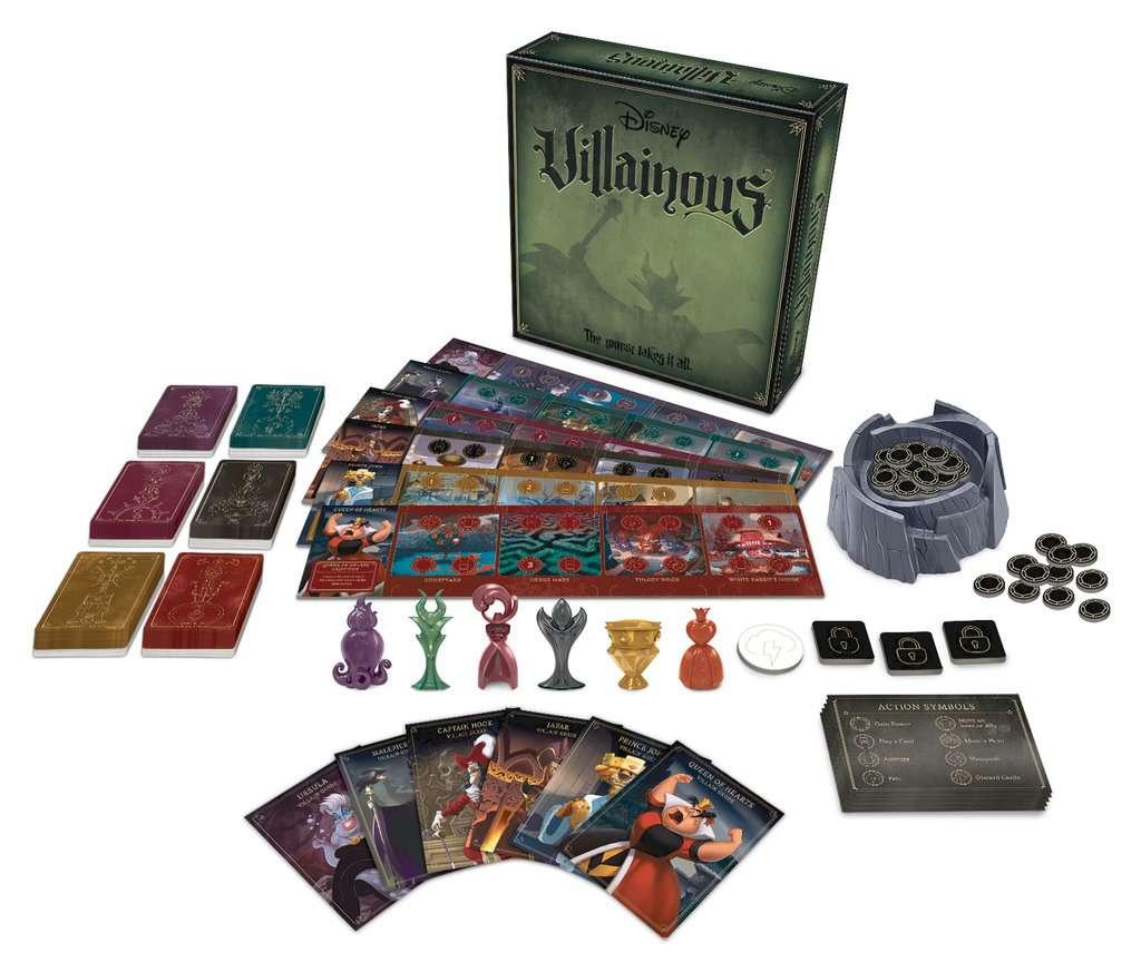 Light Strategy Game 26857 2-3 Jugadores Ravensburger Disney Villainous Wicked to the core Versi/ón espa/ñola Edad recomendada 10+