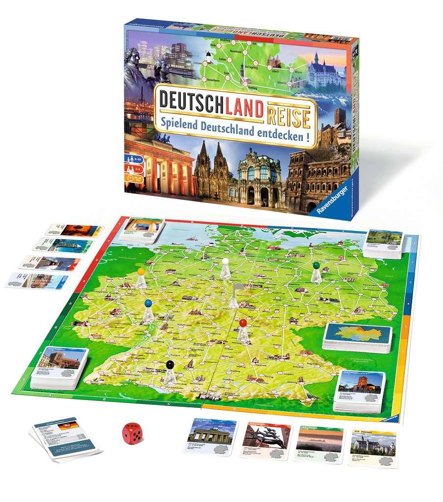Deutschland Reise Spiel
