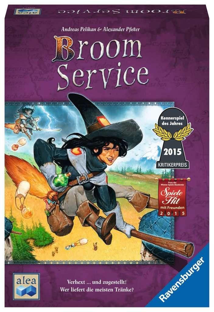 Broom Service Spiel