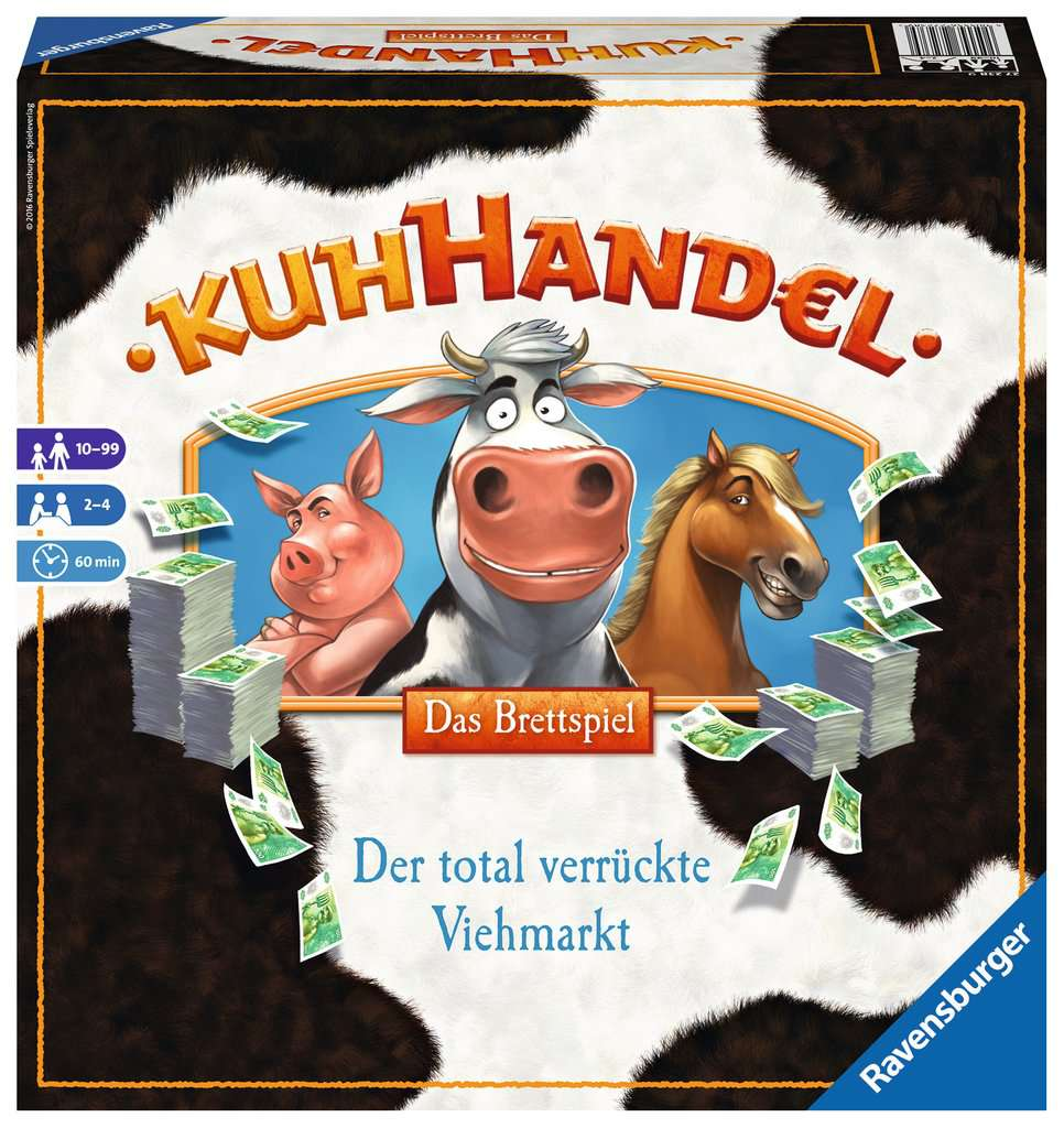 Kuhhandel Brettspiel