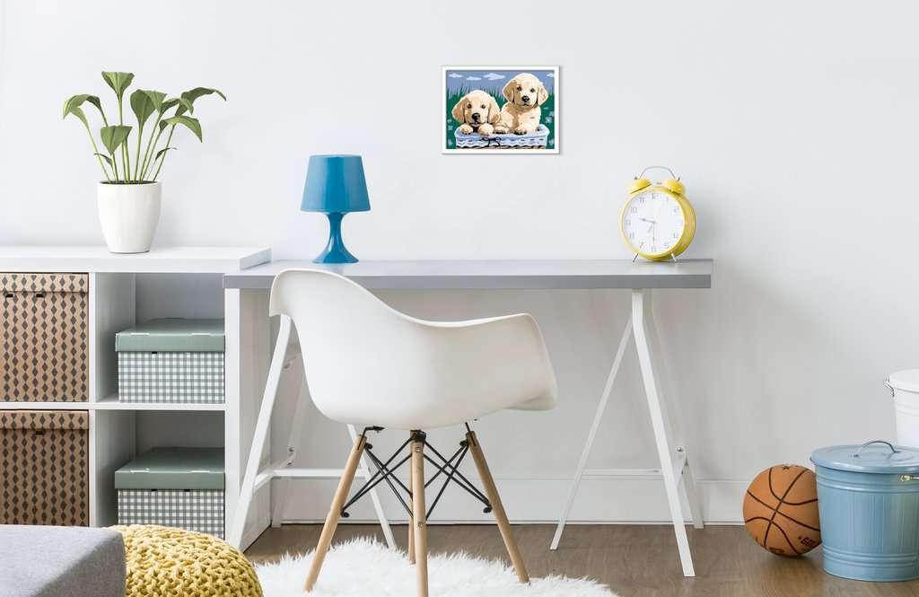 YLWMBB Malen Nach Zahlen Gro/ßer Schweizer Sennenhund DIY /Ölgem/älde Leinwand Erwachsene Kinder und Anf/änger Geschenk Hauptdekoration Wandkunst 40x50 cm Rahmenlos