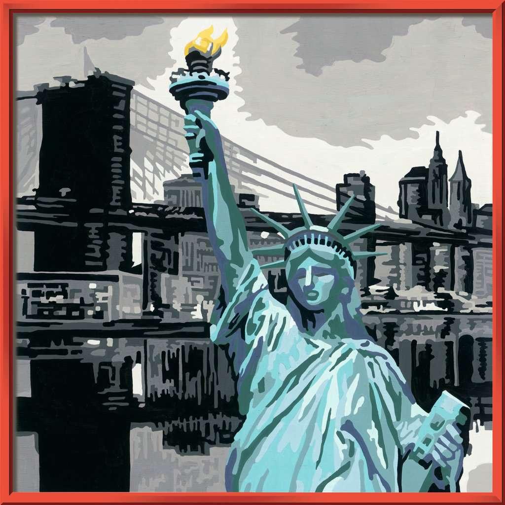 New York City  Malen nach Zahlen  Malen und Basteln  Produkte