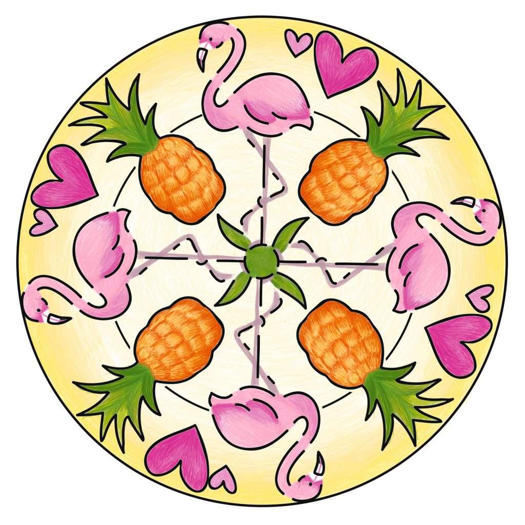 Mandala-Mini-Flamingo Loisir Cr/éatif 4005556285204 Ravensburger