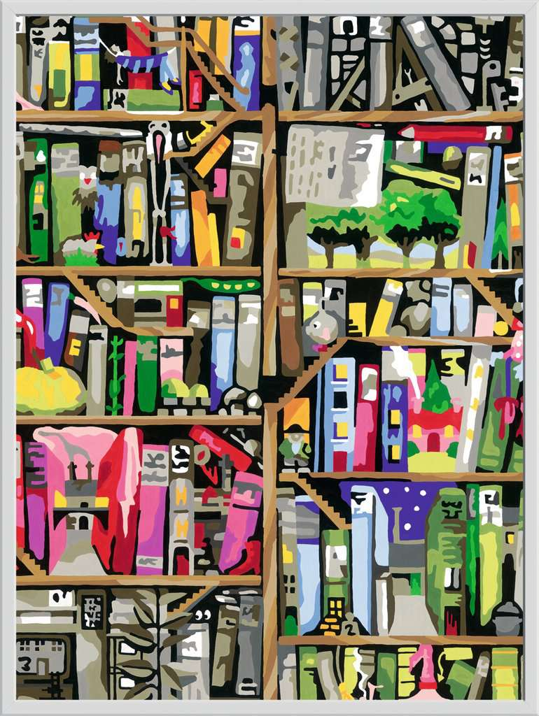 magisches b cherregal bild 2 klicken zum verg ern. Black Bedroom Furniture Sets. Home Design Ideas