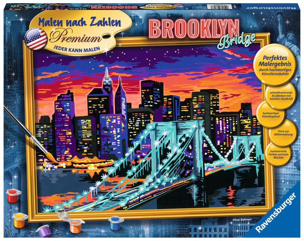 brooklyn bridge bild 1 klicken zum verg ern. Black Bedroom Furniture Sets. Home Design Ideas