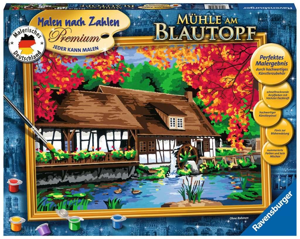 Mühle am Blautopf
