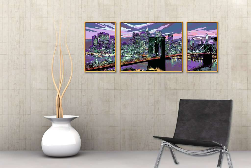skyline von new york bild 4 klicken zum verg ern. Black Bedroom Furniture Sets. Home Design Ideas